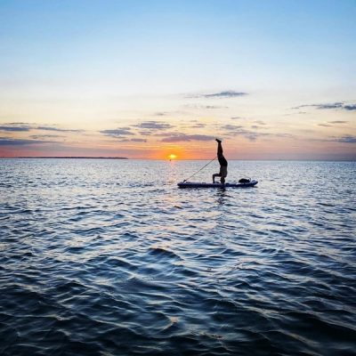 SUP-and-sunset